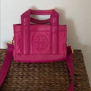 Tory Burch leather small tote